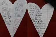 Bức thư 'tỏ tình' của cô bé lớp 4 gây sốt cộng đồng mạng, bất ngờ nhất là phản ứng người nhận thư và câu nhận xét cực chất từ cô giáo
