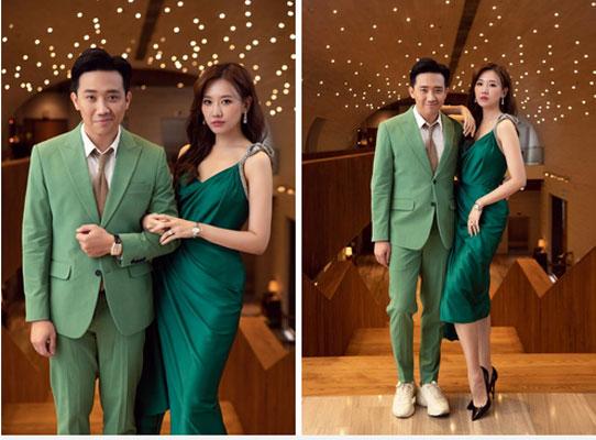 Từng mê Hari Won mặc đồ sexy, giờ Trấn Thành lại soi bộ đầm xẻ cao tít tắp mà vợ diện: Che chắn cẩn thận vẫn thấy không yên tâm-3