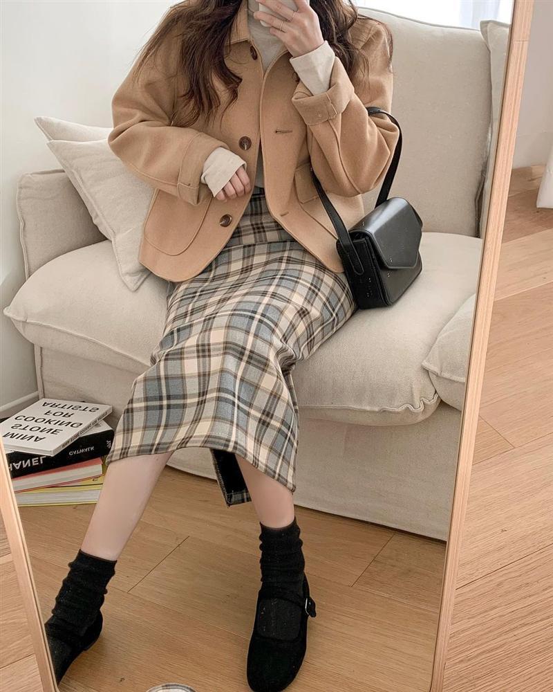 Gái Hàn mặc blazer trông sang chảnh chứ không hề già, các nàng học ngay 10 công thức để có set đồ trendy không cần hỏi-10