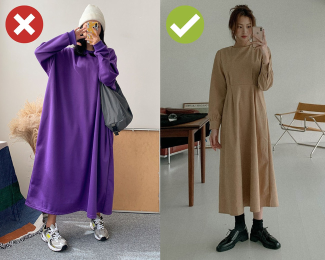 4 sai lầm khi diện váy dài khiến chị em bị dìm dáng thảm hại, mét 7 cũng thành mét rưỡi như chơi-1