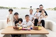 Đỗ Mạnh Cường 'chơi lớn', mừng sinh nhật của con trai trên du thuyền