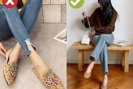 3 kiểu giày dép cứ mix với quần jeans là khiến chị em rớt xuống âm điểm thời trang