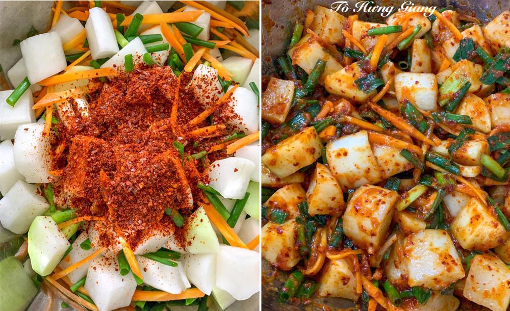 Ngày đông đổi vị với món kim chi củ cải giòn tan hấp dẫn, bữa cơm gia đình càng thêm ngon miệng và đầm ấm-6