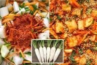 Ngày đông đổi vị với món kim chi củ cải giòn tan hấp dẫn, bữa cơm gia đình càng thêm ngon miệng và đầm ấm