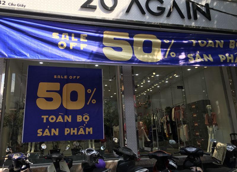 Chưa đến Black Friday đã bão giảm giá, quần áo giá 2.000 đồng-2