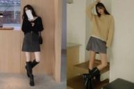 Là chân váy ngắn nhưng 4 kiểu này cực hợp mùa Đông, diện lên đã trẻ ra còn cao thêm ít nhất 5 phân