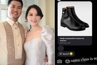 Con dâu tương lai tỷ phú Johnathan Hạnh Nguyễn có khác, muốn giày hơn 30 củ là được chiều trong 'phút mốt'