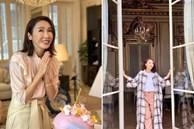 Không gian bên trong biệt thự 38 triệu USD của 'đệ nhất mĩ nhân TVB' Lê Tư