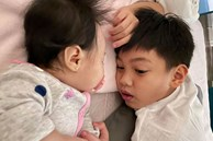 Mới 10 tuổi, Subeo đã ra dáng anh trai lớn, thay bố Cường Đô La tự mình ru em gái ngủ