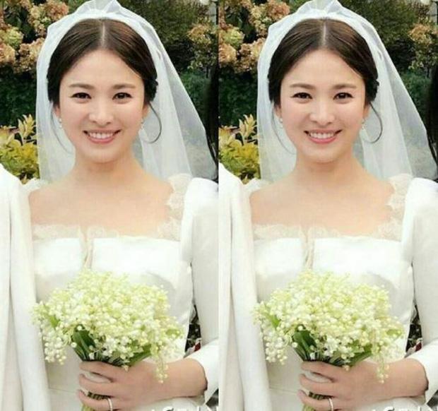 Vợ Công Phượng mặc váy cưới trơn nhẹ nhàng, cầm hoa cưới đắt đỏ khiến ai cũng liên tưởng ngay tới Song Hye Kyo-6