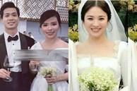 Vợ Công Phượng mặc váy cưới trơn nhẹ nhàng, cầm hoa cưới đắt đỏ khiến ai cũng liên tưởng ngay tới Song Hye Kyo