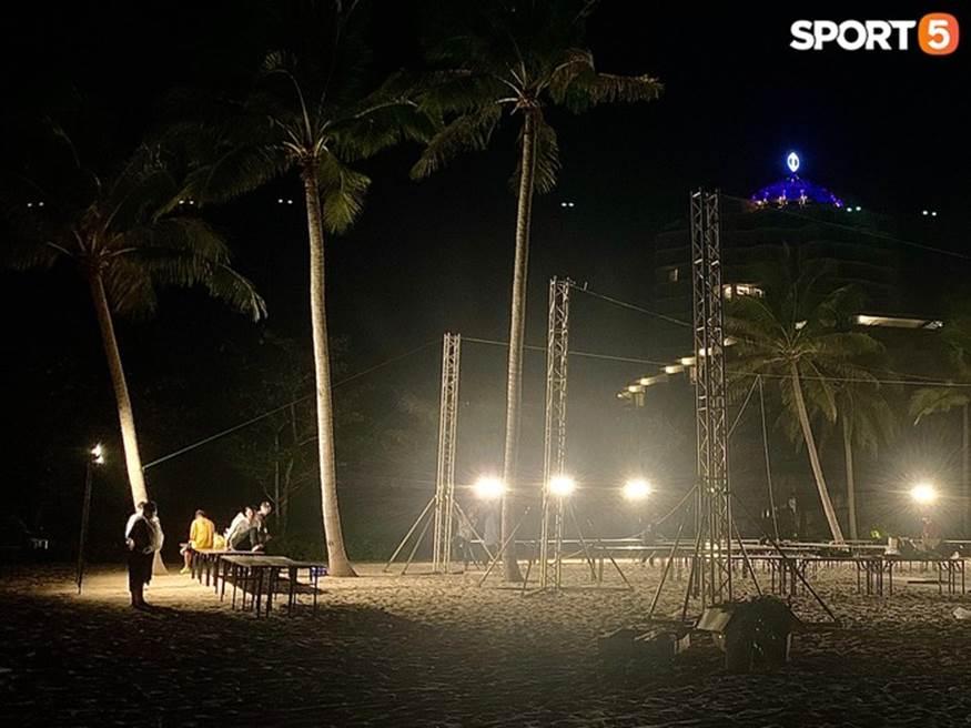 """Bật mí tiệc cưới Công Phượng - Viên Minh tại Phú Quốc trước giờ G"""": Hàng chục người tất bật chuẩn bị trong đêm-4"""