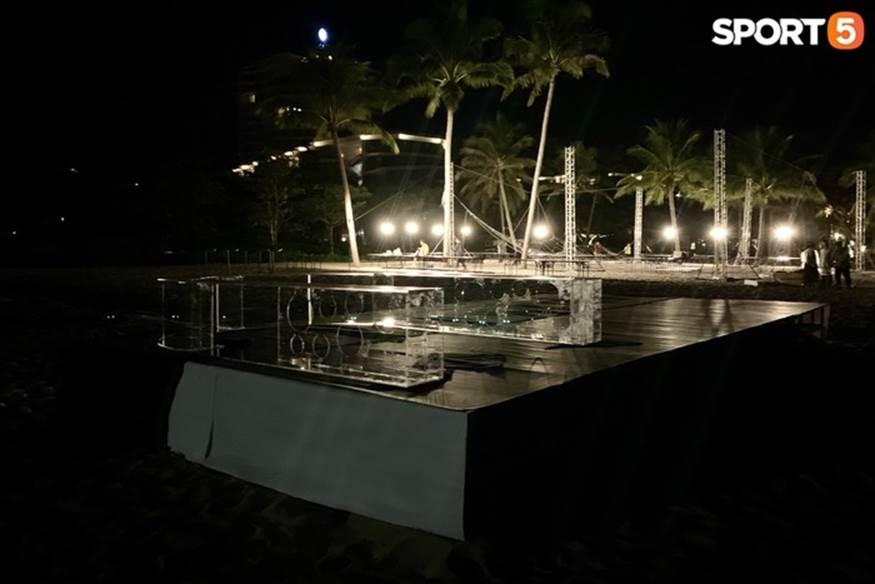 """Bật mí tiệc cưới Công Phượng - Viên Minh tại Phú Quốc trước giờ G"""": Hàng chục người tất bật chuẩn bị trong đêm-5"""