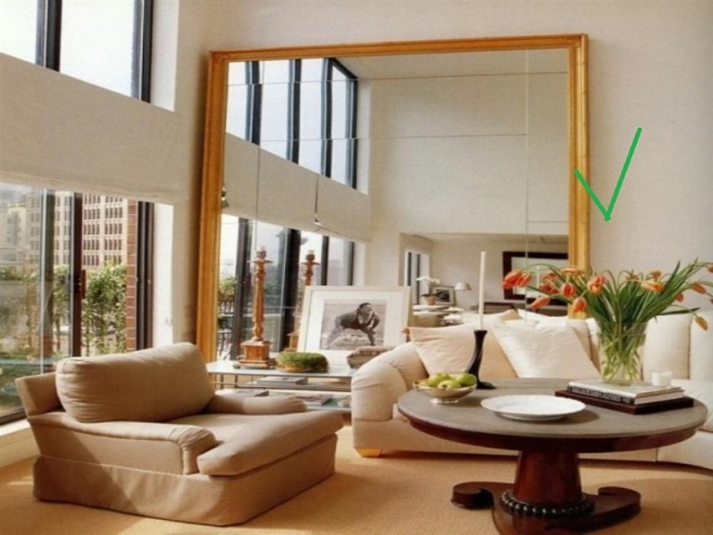 Những vị trí nên tránh đặt gương để giữ được phong thủy trong nhà-5