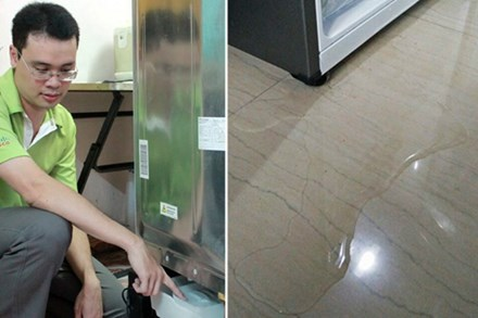 Tủ lạnh bị chảy nước? Bệnh có thể do những nguyên nhân này,