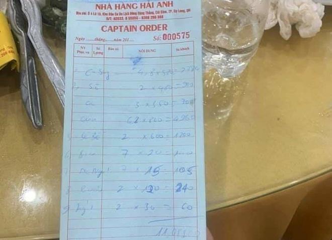 Ăn 6 kg cua mất 5 triệu, khách tố nhà hàng Quảng Ninh chặt chém-1