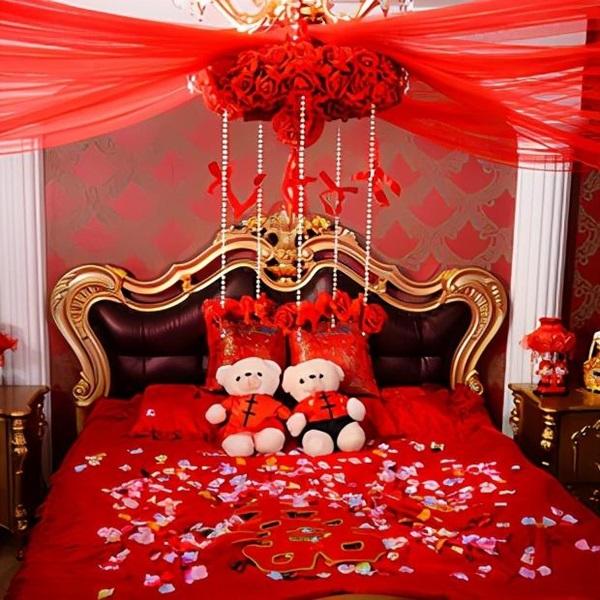 Phòng tân hôn nên trang trí như thế nào cho đúng phong thủy, giúp vợ chồng hòa hợp?-3