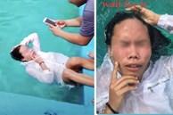 Nhờ bạn trai chụp ảnh hộ với ý tưởng 'suy tư trong làn nước', cô gái thất vọng tràn trề khi trông thấy album ảnh như triển lãm tấu hài