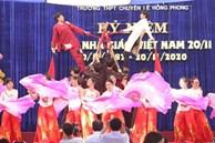 Ngày nhà giáo Việt Nam 20/11 tại các trường THPT: Học sinh bây giờ diễn văn nghệ đỉnh quá