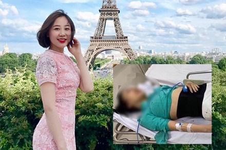 Hình ảnh xinh xắn của nữ tiếp viên hàng không trước khi bị xe Mercedes đâm thương tật vĩnh viễn 75% khiến nhiều người không khỏi xót xa