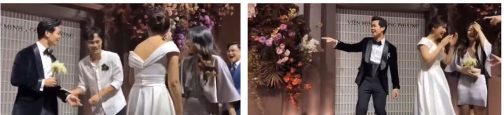 Dân mạng truy lùng danh tính cô gái độc thân khiến Văn Toàn ngại ngùng khi đứng đối diện, còn thẳng tay giành hoa trong đám cưới Công Phượng-4