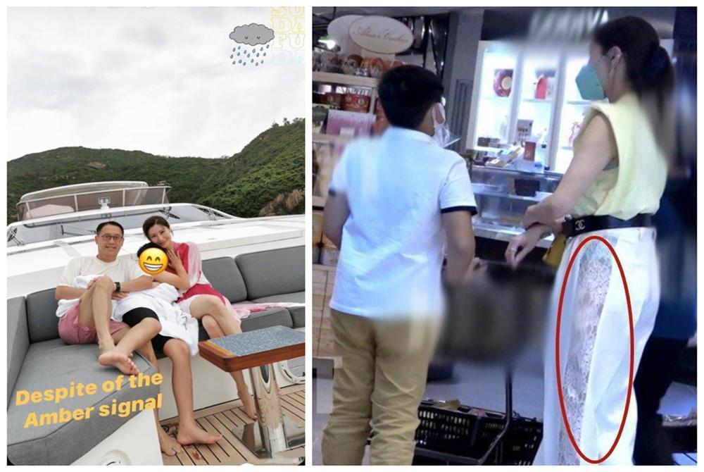 Hoa hậu đẹp nhất Hồng Kông Lý Gia Hân bị chỉ trích vì đăng ảnh thân mật quá mức, ăn mặc hớ hênh khi ở cùng con trai-7