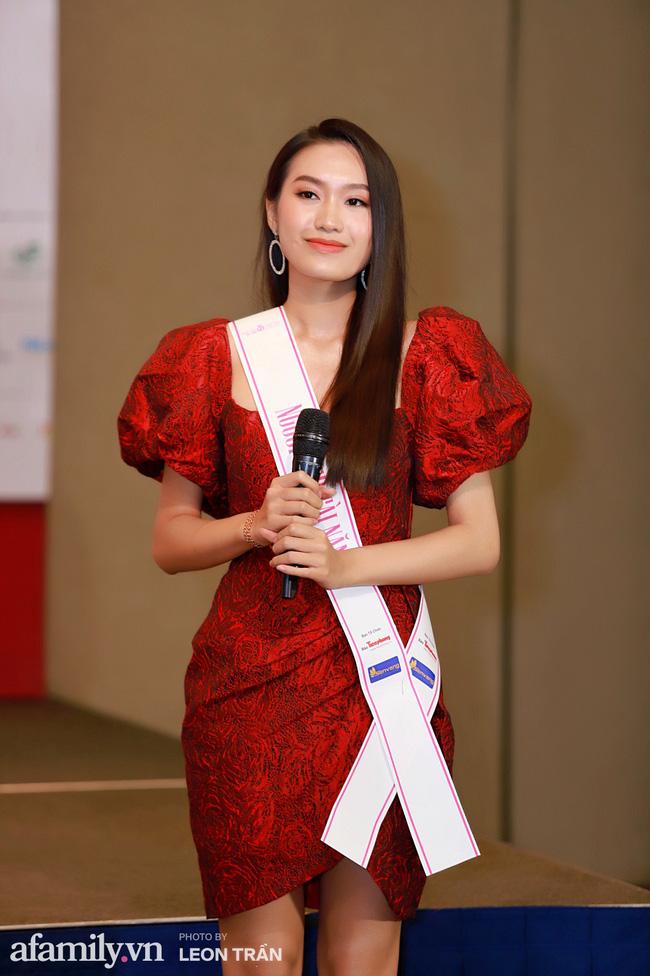 Hoa hậu Việt Nam 2020 lần đầu xuất hiện trước truyền thông: Đỗ Thị Hà đáp trả nghi vấn biết trước kết quả, Á hậu 2 nói về việc từng diễn trong show nội y của Vũ Khắc Tiệp-4
