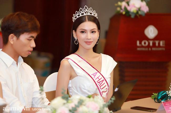 Hoa hậu Việt Nam 2020 lần đầu xuất hiện trước truyền thông: Đỗ Thị Hà đáp trả nghi vấn biết trước kết quả, Á hậu 2 nói về việc từng diễn trong show nội y của Vũ Khắc Tiệp-5