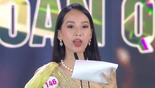 Sự cố khó hiểu trong phần thi ứng xử tại đêm Chung kết Hoa hậu Việt Nam: BTC chuẩn bị vô số câu hỏi nhưng cuối cùng lại bị... bốc hơi?-1
