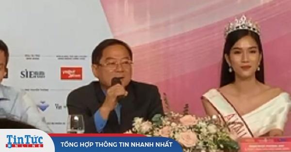 Sự cố khó hiểu trong phần thi ứng xử tại đêm Chung kết Hoa hậu Việt Nam