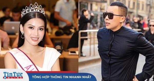 Á hậu 2 Hoa hậu Việt Nam nói gì khi bị đồn là 'gà' Vũ Khắc Tiệp?
