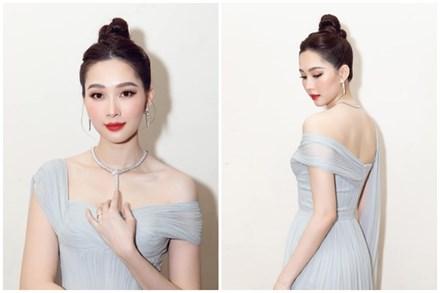 Nhan sắc Đặng Thu Thảo trong đêm chung kết Hoa hậu Việt Nam 2020