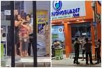 Lời kể nhân chứng vụ đối tượng khống chế 3 người ở cửa hàng sữa: Lấy dao từ quán phở khiến khách ăn bỏ chạy-2