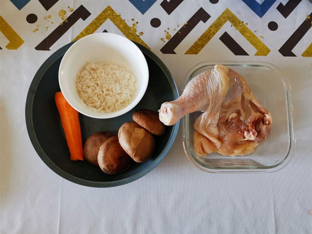 Dùng nồi cơm điện nấu cháo gà buổi tối, hôm sau cả nhà có món cháo nóng hổi cực ngon ăn sáng-1