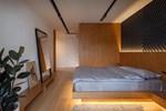 Thiết kế giường ngủ vừa đẹp lại tiết kiệm diện tích, không chỉ an toàn mà còn rất được ưa chuộng