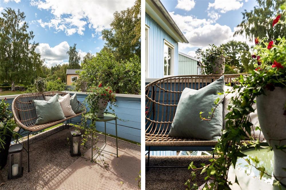 Căn nhà cấp 4 màu xanh da trời nhìn ngoài thì bình thường mà bên trong khiến ai cũng sững sờ-6