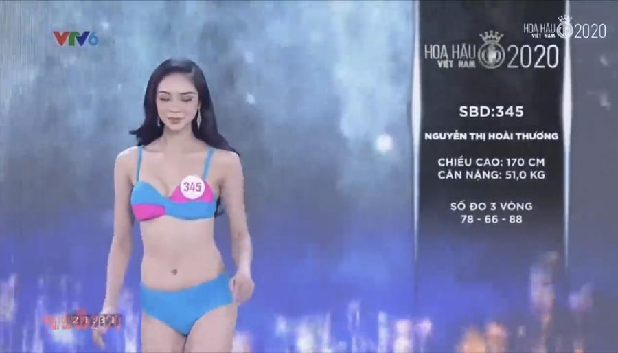 LẠ LÙNG: Số đo nhân trắc học của thí sinh Hoa hậu Việt Nam 2020 phồng xẹp bất thường qua 3 vòng thi-4