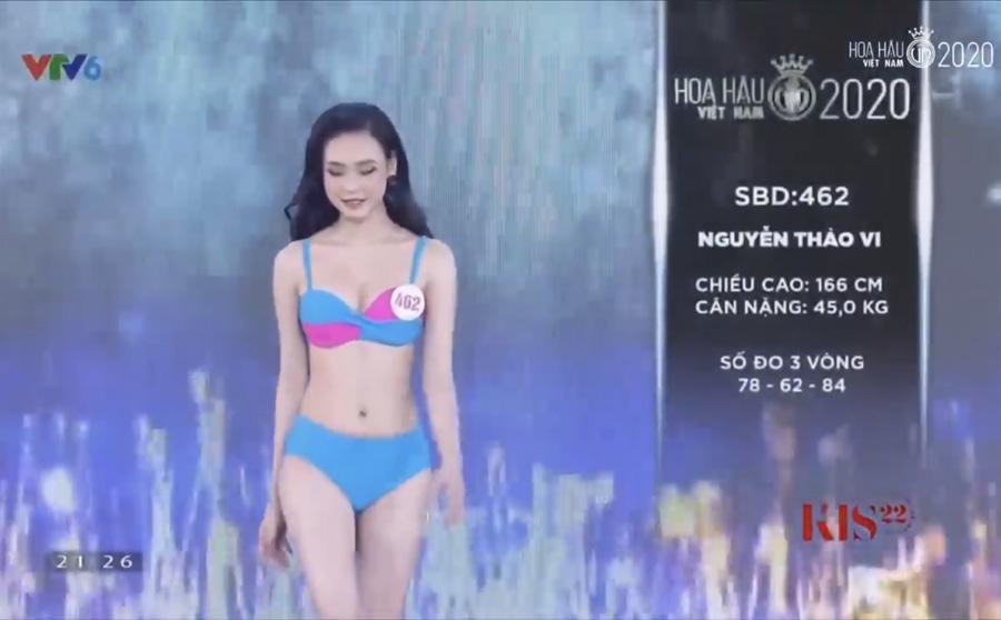 LẠ LÙNG: Số đo nhân trắc học của thí sinh Hoa hậu Việt Nam 2020 phồng xẹp bất thường qua 3 vòng thi-10