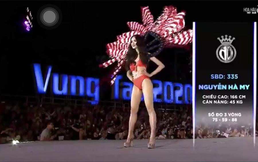 LẠ LÙNG: Số đo nhân trắc học của thí sinh Hoa hậu Việt Nam 2020 phồng xẹp bất thường qua 3 vòng thi-13