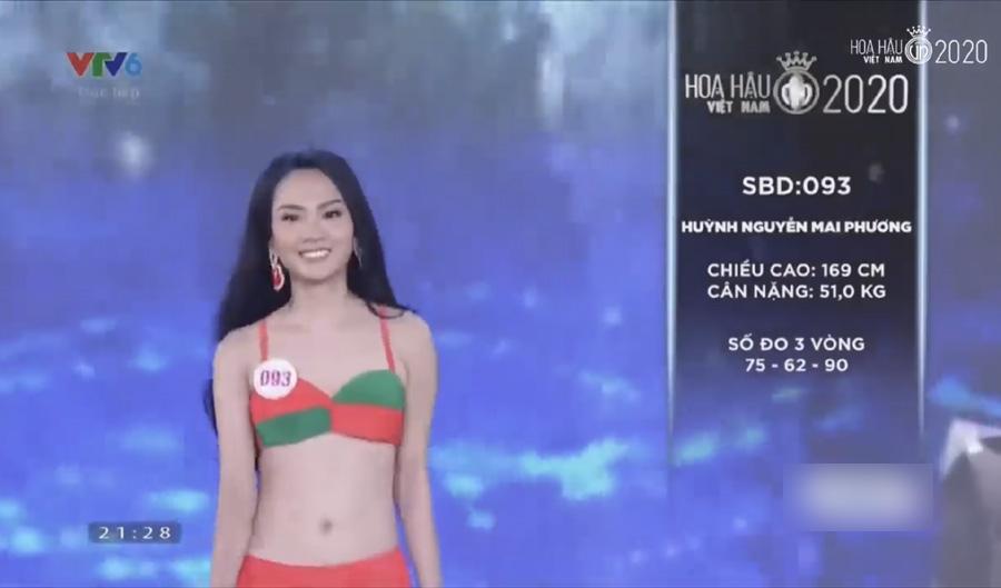 LẠ LÙNG: Số đo nhân trắc học của thí sinh Hoa hậu Việt Nam 2020 phồng xẹp bất thường qua 3 vòng thi-14