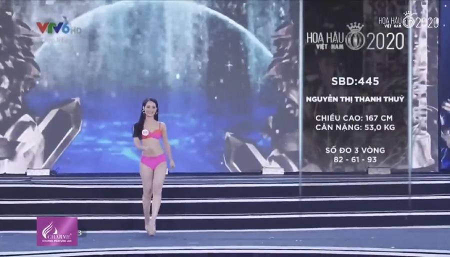 LẠ LÙNG: Số đo nhân trắc học của thí sinh Hoa hậu Việt Nam 2020 phồng xẹp bất thường qua 3 vòng thi-18