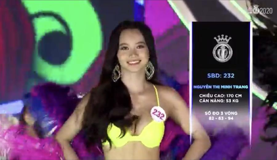LẠ LÙNG: Số đo nhân trắc học của thí sinh Hoa hậu Việt Nam 2020 phồng xẹp bất thường qua 3 vòng thi-23
