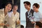 Tiến Linh khoe ảnh nét căng bên vợ chồng Công Phượng trong siêu hôn lễ, vô tình hé lộ nhẫn cưới của cô dâu chú rể-4