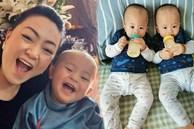Sinh con ở tuổi U50, hot mom Văn Thùy Dương 'dở khóc dở cười' khi nghe cách cháu nội chào 2 chú Cơm - Canh