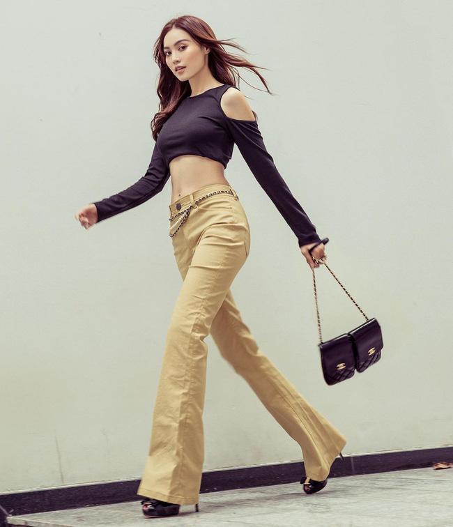 Mỹ nhân Việt cực chuộng một combo quần dài + giày hack dáng siêu ảo, nàng nấm lùn áp dụng cũng thành chân dài tới nách-1