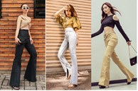 Mỹ nhân Việt cực chuộng một combo quần dài + giày hack dáng siêu ảo, nàng nấm lùn áp dụng cũng thành 'chân dài tới nách'