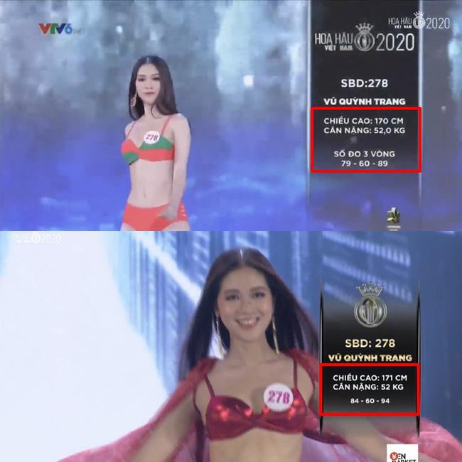 Hàng loạt thí sinh Hoa hậu Việt Nam 2020 bị phát hiện thay đổi số đo nhân trắc học bất thường qua từng vòng, BTC chính thức lên tiếng-4