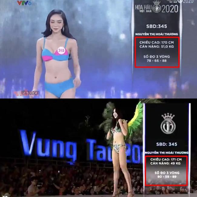 Hàng loạt thí sinh Hoa hậu Việt Nam 2020 bị phát hiện thay đổi số đo nhân trắc học bất thường qua từng vòng, BTC chính thức lên tiếng-5