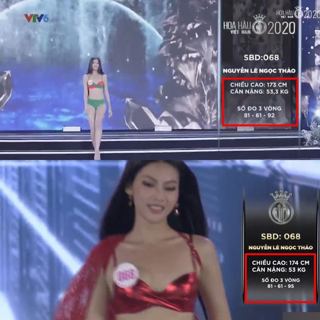 Hàng loạt thí sinh Hoa hậu Việt Nam 2020 bị phát hiện thay đổi số đo nhân trắc học bất thường qua từng vòng, BTC chính thức lên tiếng-2