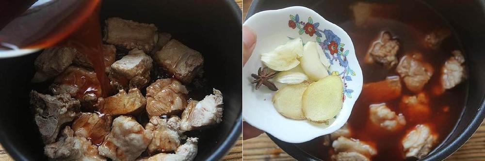 Dùng nồi cơm điện làm món sườn kho không dầu không ngán ngấy ăn với cơm là số 1!-3